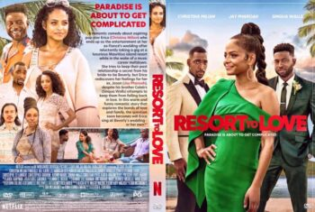 Resort to Love 2021 DVD Cover