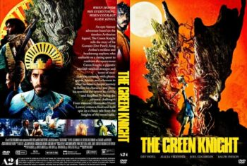The Green Knight 2021 DVD Cover