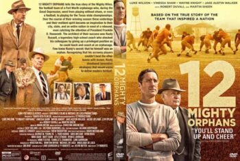 12 Mighty Orphans 2021 DVD Cover