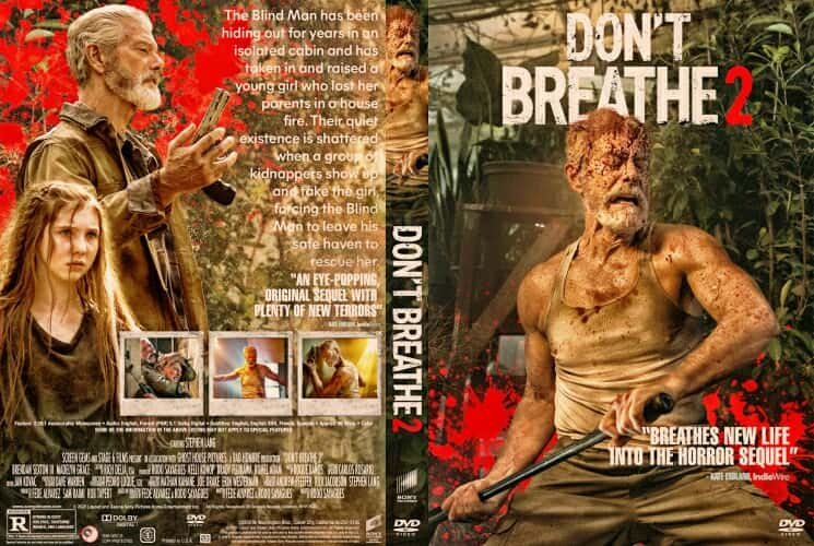 Don't Breathe 2 2021 DVD Cover