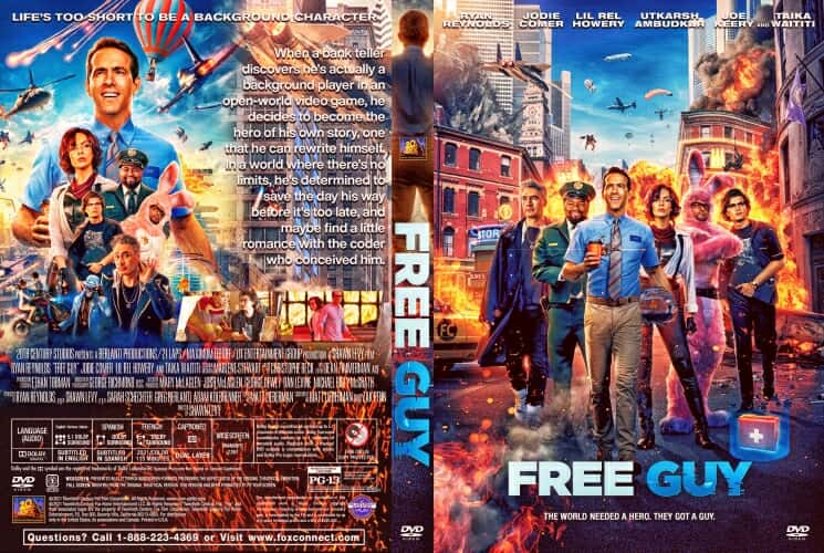 Free Guy 2021 DVD Cover