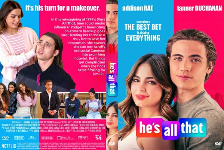 He's All That 2021 DVD Cover