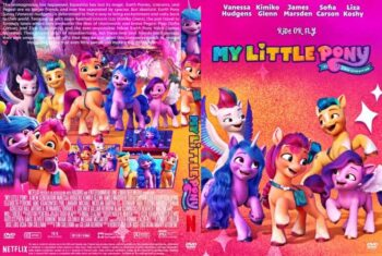 My Little Pony A New Generation 2021 DVD Cover