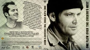 One Flew Over the Cuckoo's Nest 1975 Bluray Cover