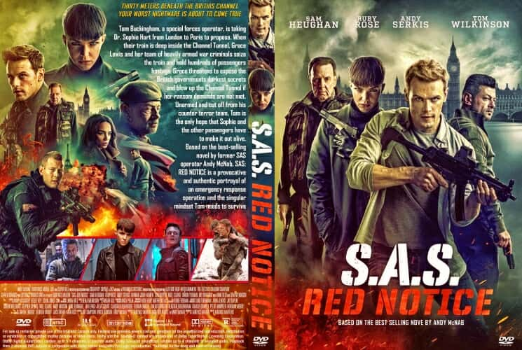 SAS Red Notice 2021 DVD Cover