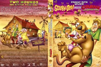 Straight Outta Nowhere Scooby Doo Meets Courage the Cowardly Dog 2021 DVD Cover