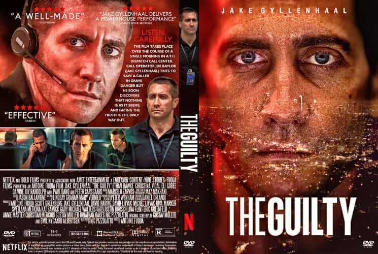 The Guilty 2021 DVD Cover
