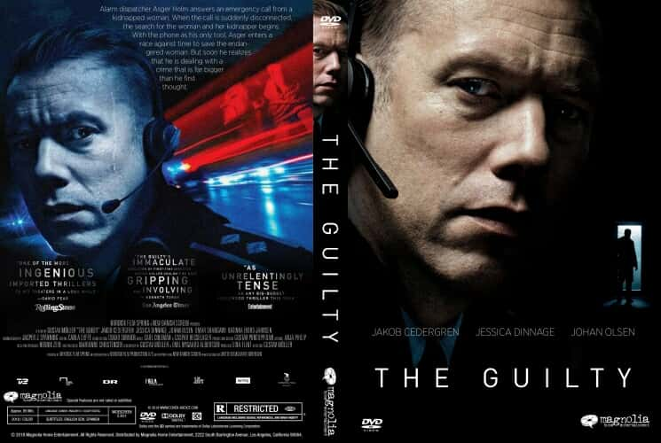 The Guilty 2018 DVD Cover