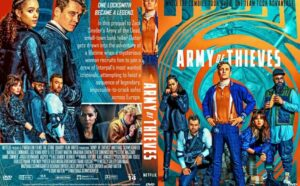 Army of Thieves 2021 DVD Cover