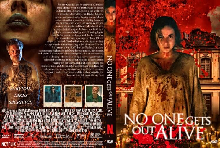 No One Gets Out Alive 2021 DVD Cover