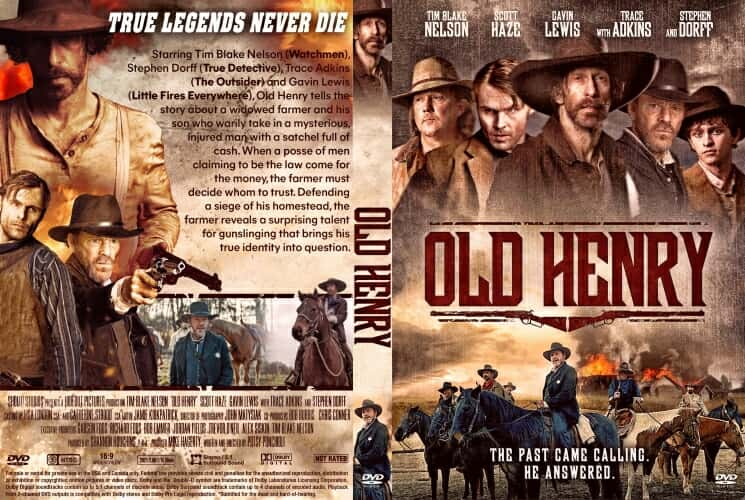 Old Henry 2021 DVD Cover