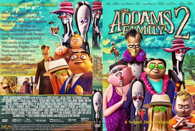 The Addams Family 2 2021 DVD Cover