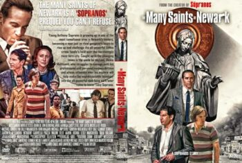 The Many Saints of Newark 2021 DVD Cover