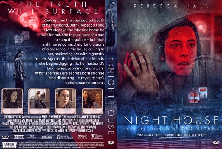 The Night House 2021 DVD Cover
