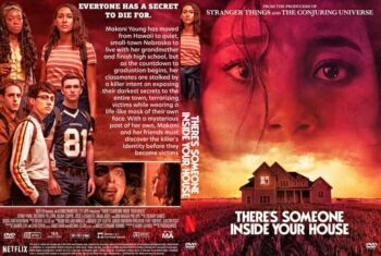 There's Someone Inside Your House 2021 DVD Cover